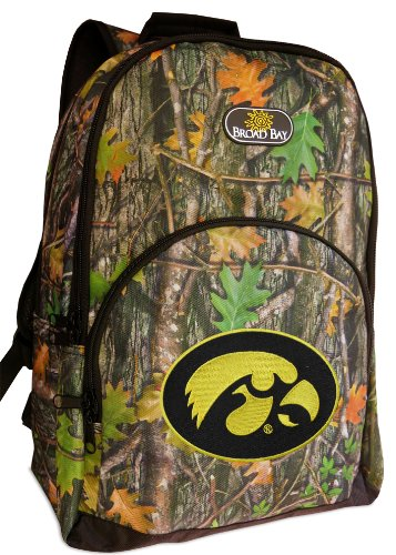 University of Iowa Backpacks Official CAMO Iowa Hawkeyes Backpack (Camo Hawkeyes Iowa)