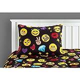 Emoji Bed in a Bag Full Idea Nuova Emoji Bling Bed in A Bag, Full, Multi
