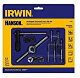 IRWIN Tap And Die Set, Fractional, 12-Piece