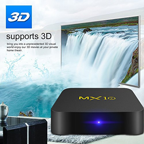 SCS ETC Streaming Media Player, MX10 Android 7.1 TV Box