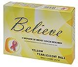 Believe Ladies Pearlescent Golf Balls - Three Dozen (Yellow)