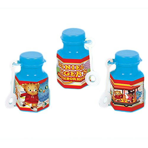 Mini Bubble Favor | Daniel Tiger's Neighborhood | Party Accessory ()