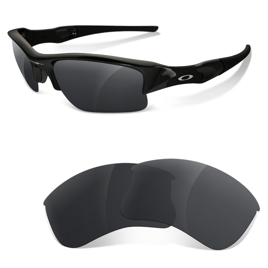 sunglasses restorer Lentes de Recambio Polarizadas para Gafas de Sol Oakley Flak Jacket XLJ