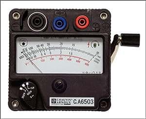 CA 6503 - Medidor de aislamiento con manivela