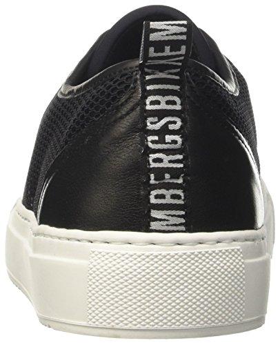 Bikkembergs Amb-Er 901, Zapatillas de Estar por Casa para Mujer negro