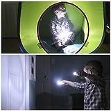 Spark LED Technology 12 Lumens Wine Bottle USB Rechargeable Cork Light, White, Set of 8