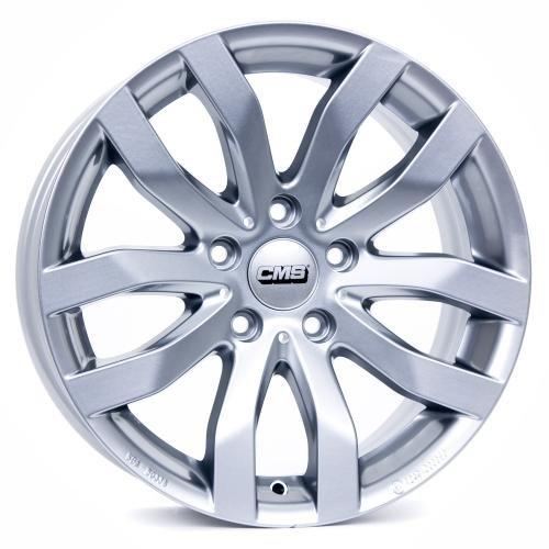 CMS C22 Racing Silver C22 808 30 98S SR 8x18 ET 30 5x112 MZ 66.50 Alufelgen LKW