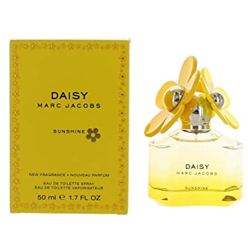 77fb11bf93de Image Unavailable. Image not available for. Color: Marc Jacobs Daisy  Sunshine Eau de Toilette Spray for Women ...