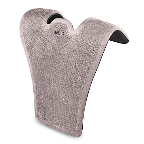 Comfort Pro Elite Heated Vibrating Massage Wrap  Adjustable Intensity, Soft Fabric, Tension Relief Heat Therapy  Heated Shoulder Massage, Relieves Neck, Upper Back & Shoulders  HoMedics