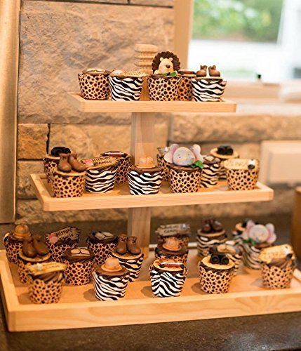 Cupcake Stand - Donut Stand - Rustic Wood Cupcake Stand - Holds 50 Cupcakes