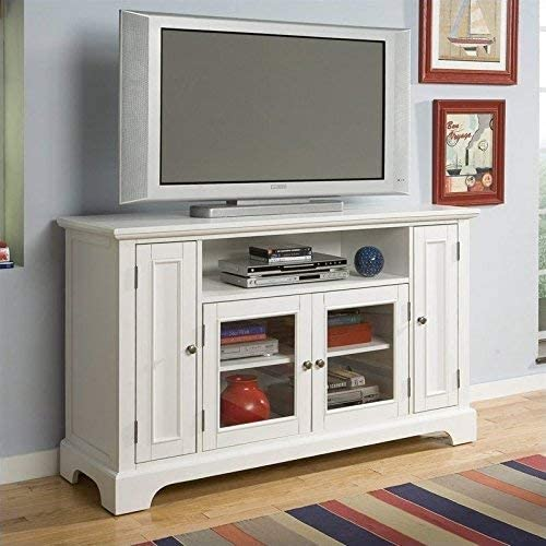 Naples White Entertainment Credenza by Home Styles