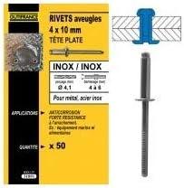 Rivets Inox//Inox 4,8X10 25