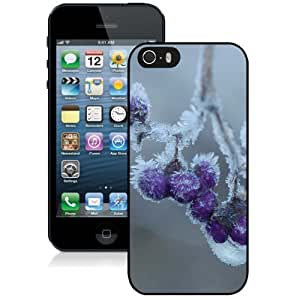 Cream Hanging Hard Plastic iPhone 5 5S Protective Phone Case