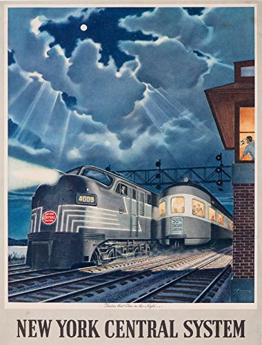 new york central system poster - 5