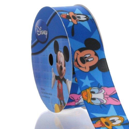 "1"" Blue Mickey Mouse® & Friends Grosgrain Ribbon"