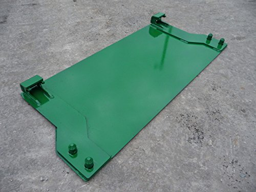 John Deere Tractor Loader Quick Tach Weld On Blank Mount Plate (Loader Attachments Tractor)