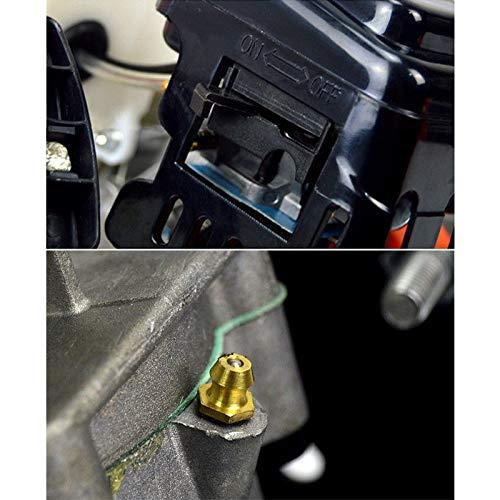 4 6 8 rallonge 30 cm HanSemay Tari/ère Thermique /à Essence 71 CC Forets Ensemble de Forage avec 3 Tari/ères de Forage