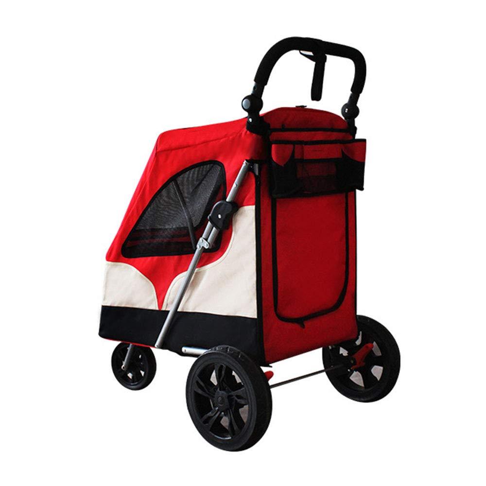 Amazon.com: XMSG - Carrito de tres ruedas para mascotas ...