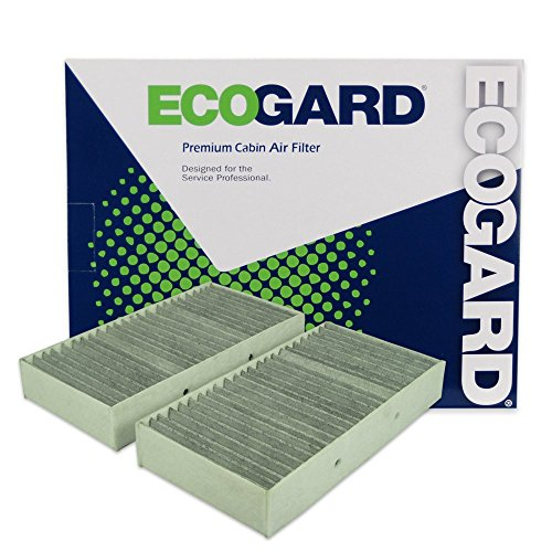 - ECOGARD XC10009C Cabin Air Filter with Activated Carbon Odor Eliminator - Premium Replacement Fits Mercedes-Benz ML350, GLE350, GL450, GLS450, GL550, GL350, ML400, GLS550, ML550, GL63 AMG, ML63 AMG