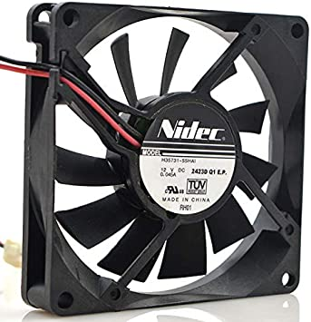 for Nidec H35731-55HAI 8015 8CM 12V 0.045A Haier Refrigerator Ultra-Quiet Cooling Fan