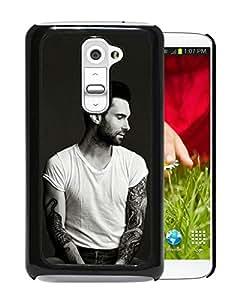 New Fashion Custom Designed Cover Case For LG G2 With Adam Levine 1 Black Phone Case