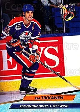 80d74aaac Amazon.com  (CI) Esa Tikkanen Hockey Card 1992-93 Ultra (base) 67 ...