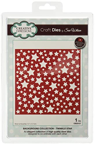 Sue Wilson CED3127 Background Collection Twinkle -