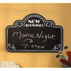 Movie Night Chalkboard - Home Decor