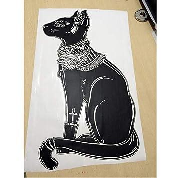 Lovemq Gato Egipcio Tatuajes De Pared Religión Animal Etiqueta ...