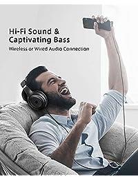 Auriculares con micrófono estéreo y auriculares aislantes de ruido remoto