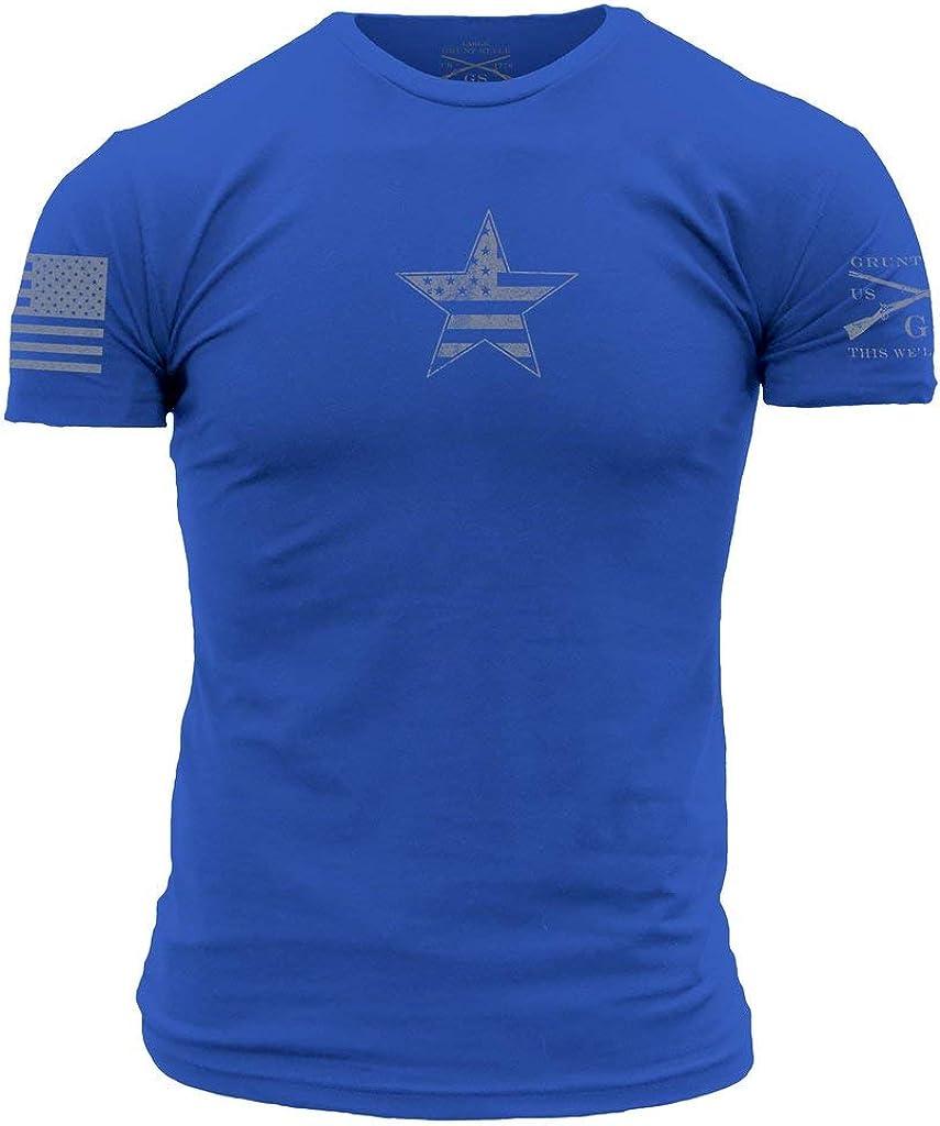 Grunt Style Basic American Star Men's T-Shirt