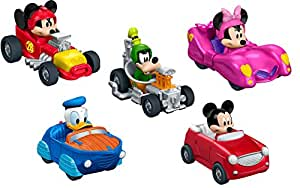 Fisher-Price Disney Mickey and the Roadster Racers - Set of 5 Die-Cast Cars