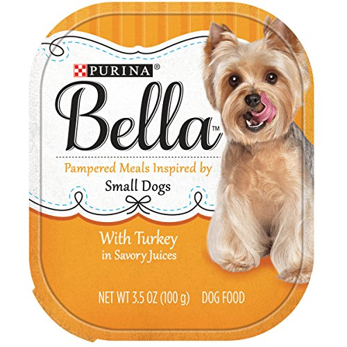 Purina Bella Pampered Meals With Turkey in Savory Juices Adult Wet Dog Food - (12) 3.5 oz. Trays
