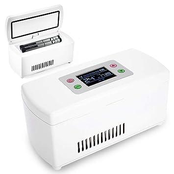 XJZHANG La insulina portátil Mini Nevera Caja refrigerada de ...