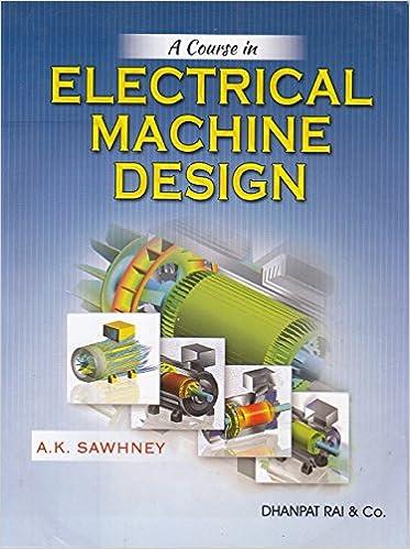 Electrical machine design by ak sawhney free