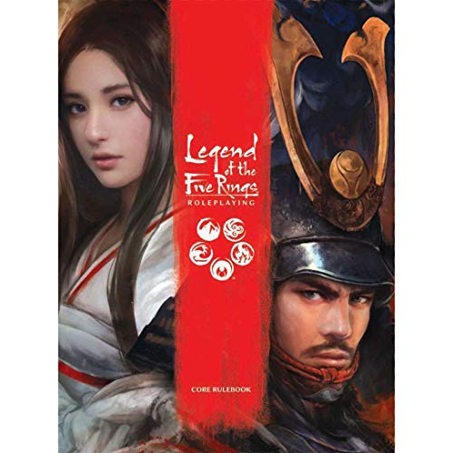 - Fantasy Flight Games  Legend of the Five Rings Core Rulebook , Red , Small