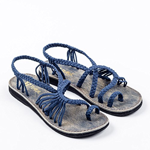 Blue by Saphire Women Summer Plaka Sandals for xYwq1xzT