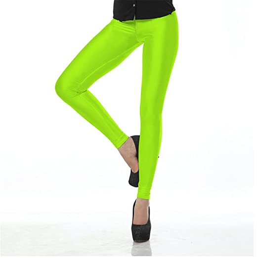 daa85bf949228 Image Unavailable. Image not available for. Color: Women Neon Green Leggings