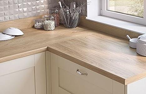 Egger contemporaneo effetto legno di noce naturale laminato cucina ...