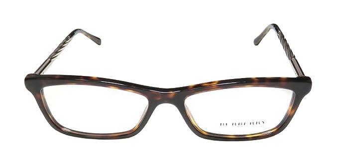 7c2063d83e BURBERRY Eyeglasses BE 2190 3002 Dark Havana 52MM at Amazon Men s ...