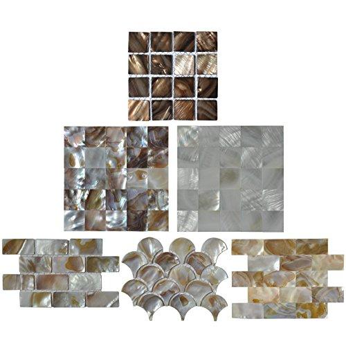 Pearl Bathroom Mosaic - 9