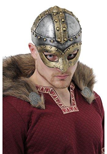 Battle Viking Adult Helmet Standard - Adult Unisex Viking Costumes