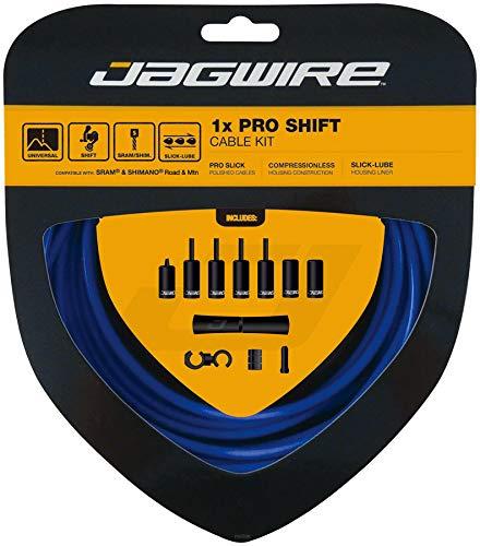 Jagwire 1x Pro Shift Kit Road/Mountain SRAM/Shimano, SID Blue by Jagwire