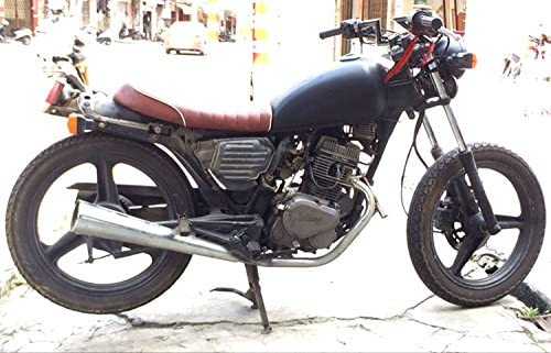 elegantstunning 7//20,3/cm 22/mm moto manubrio Z bar comune Honda Yamaha Suzuki Kawasak kit moto modifica Parts Accessories