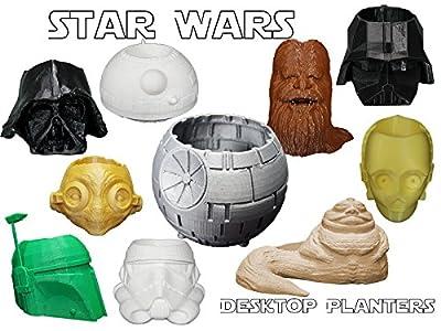 Star Wars Inspired Desk Top Planters
