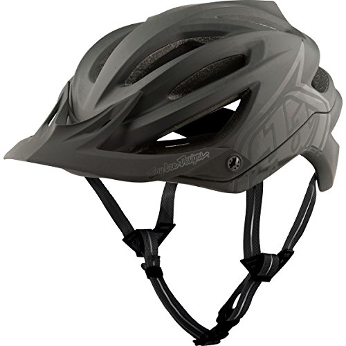 Troy Lee Designs 2018 A2 MIPS Decoy Bicycle Helmet-Black-M/L
