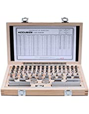 Accusize Industrial Tools 81 Pc Grade B Steel Gage Block Set, P900-S581