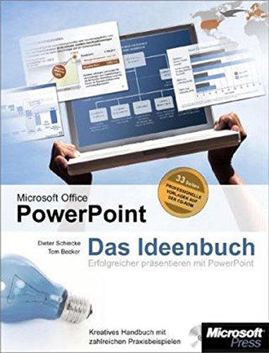 Microsoft Office PowerPoint - Das Ideenbuch für kreative Präsentationen, m. CD-ROM