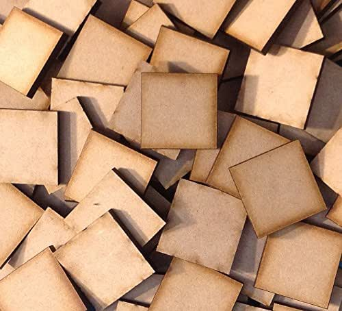 TV MDF Laser Cut Craft Blanks in Various Sizes