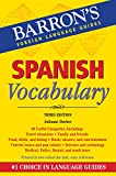 Spanish Vocabulary %28Barron%27s Vocabul